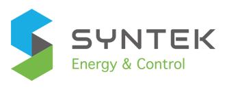 Syntek Energy & Control Logo