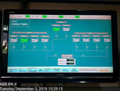 PDAM Banjarmasin Intake Pump Monitoring
