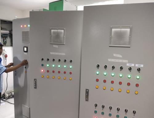 PLC & Electrical Panel IPAL Balongan