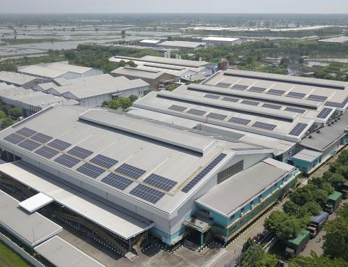 634 kWp Sidoarjo PV Plant